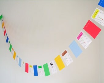 Monopoly cards paper garland 6ft bday decoration, board game birthday decoration, paper garland game birthday monopoly property partygarland