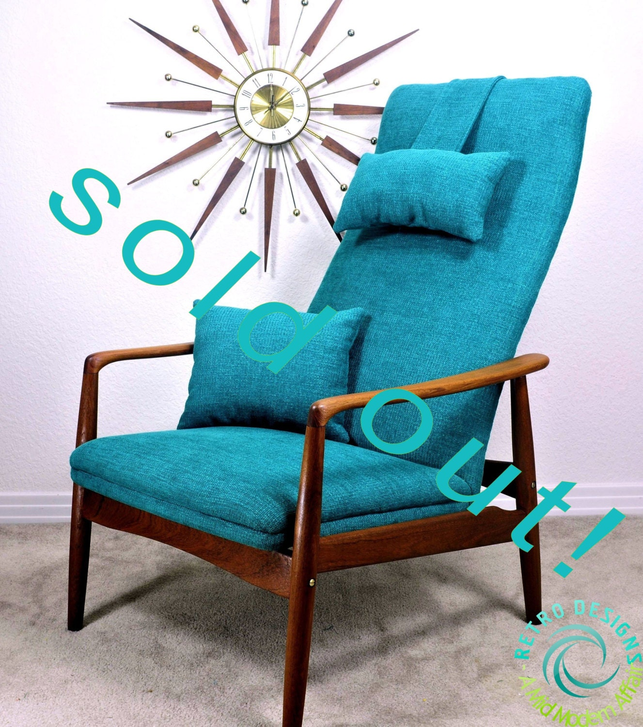 Sold Out Restored Vintage Danish Mid Century Retro Teak