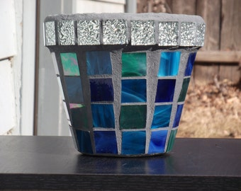 Mosaic Flower Pot / Planter