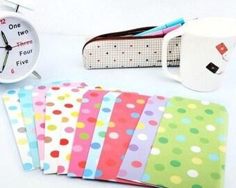 "Set paper envelopes ""Polka Dots"""
