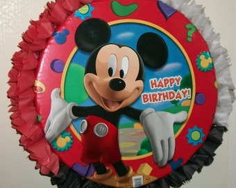 Mickey Mouse Happy Birthday Pull String or Hit Pinata