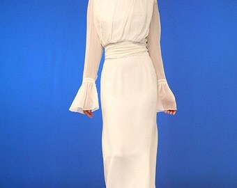 Charlie Two-Piece Wedding Gown with Sleeves