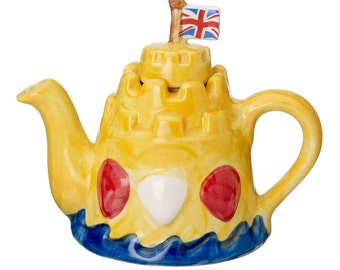 The 'Sandcastle' one-cup Teapot