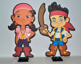 Jake and the Neverland Pirates Centerpiece (DOUBLE-SIDED)