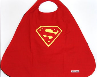 Superhero Superman Cape. Able to be personalised with initial. Perfect present for the little superhero in your life!