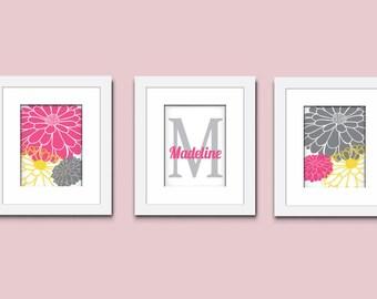 Mums Art Print, Childrens Art Print, Monogram Art Print, Mums Wall Art, Kids Art Print, 503