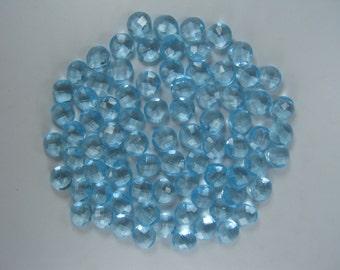 10mm Round Briolette Beads, Loose Briolette Beads