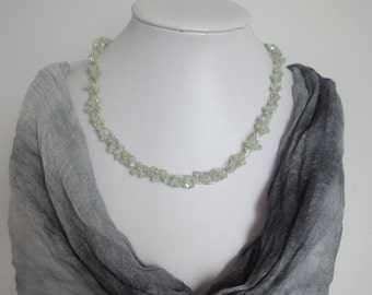 Tender Green Wire Necklace