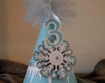 Frozen theme party hat