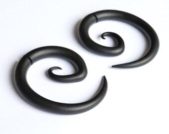 Fake Gauges or Real Gauges, Tribal Earrings, Polymer Clay, 6g 5g 4g 3g 2g 1g 0g 00g 000g 7/16 0000g 1/2 9/16 5/8 11/16 3/4