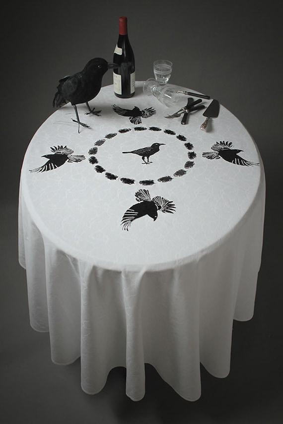 Raven Table Cloth