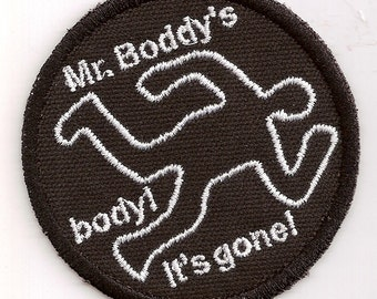Clue - Mr. Boddy's Body patch