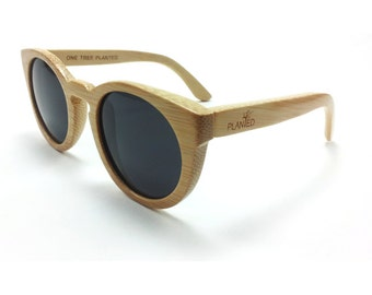 Womens Wooden Sunglasses by Planted