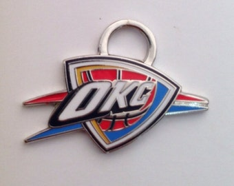 Oklahoma City Thunder Charm