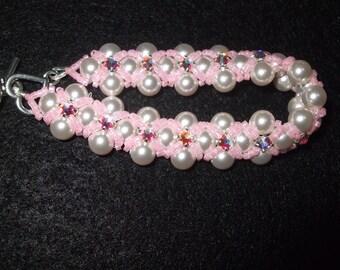 Swarovski Embellished Pearl Bracelet