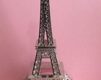 "Metal Eiffel Tower 7"" tall- Eiffel Tower centerpiece"