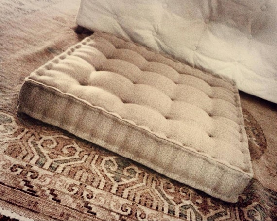 Items similar to French Mattress Floor Cushion - Large - 30
