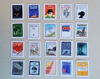 Literary themed/ books/ classics stickers