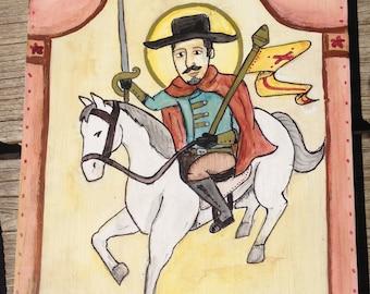 Retablo of Saint James Matamoros