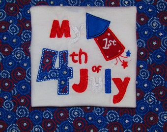 My First Fourth of july tee, 4th of july, independence day, america, God bless america, usa