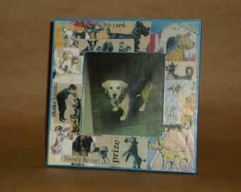 Dog Collage Frame