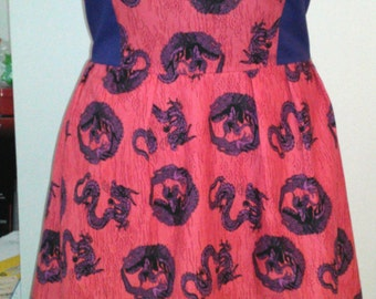 Dragon Sundress with Pockets