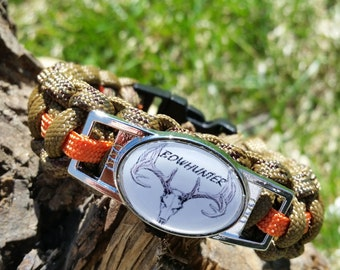 Survival Bow Hunter Bracelet