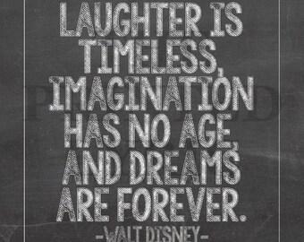 Walt Disney Quote Prints