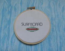 Beyonce - SURFBOARD - Drunk In Love - Cross Stitch