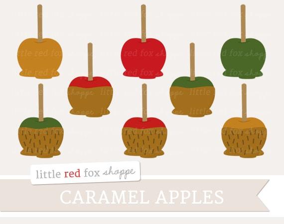 caramel apple clipart images - photo #37