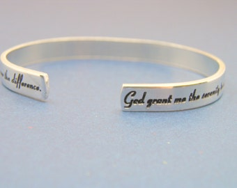 Serenity Prayer...Hand Made jewelry Bracelet
