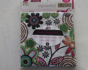 Slices & Fabric Squares 2 pack