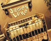 BUCKS, TRACKS & RUBS™ Custom Baby Bedding and Nursery Sets - hunting baby bedding, camo baby bedding, deer baby bedding, design your own