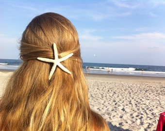 Cruelty-Free Finger Starfish Hair Clip Sea Star Barrette