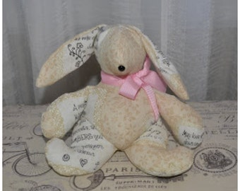 Fabric Bookends, Bear, Lamb or Bunny Bookends