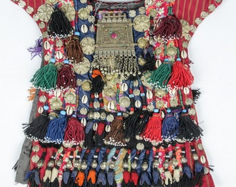 Ceremonial Vestment : Central Asia, Fantastic Afghanistan Child's Ceremonial Vestment #350