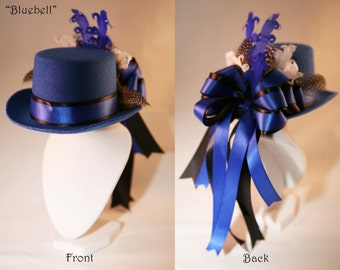 Bluebell Mini Top Hat
