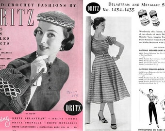Dritz Vol. 32 Eye Candy Hats Bags Stoles Skirts 1953