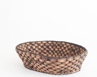Newborn Prop Vintage Wicker Basket