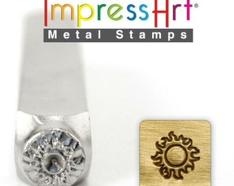Sun ImpressArt Metal Design Stamp 6mm - Large