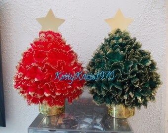 Christmas tree table decoration