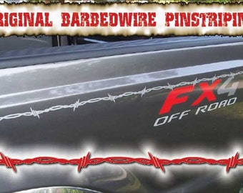 Barbed Wire Automotive Pinstriping...4 styles to choose from