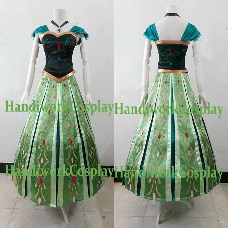 Anna Costume Anna Coronation Dress High By HandiworkCosplay