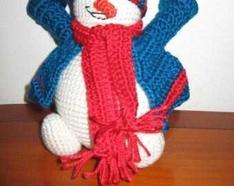 Snowman for home decoration or gift for family and friends