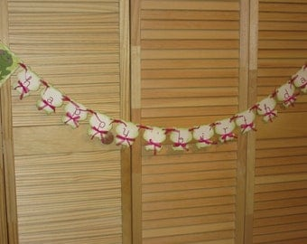 Happy Birthday Frogs, Frog Banner, Happy Birthday Frog Banner, Garland, Girls Birthday Banner