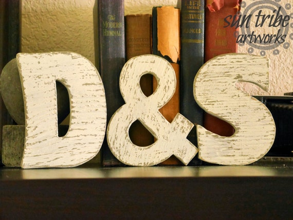 Small wooden letter set of 3 three 5 inch wood letters any for 3 inch wooden letters
