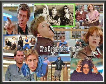 Breakfast Club Poster 80s Movie 11*17