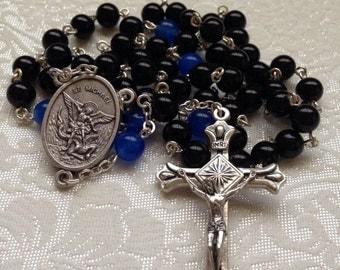 St Michael Thin Blue Line Catholic Rosary