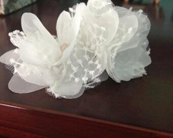 Lace Flower Comb