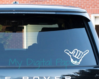 Car Window Decal Etsy - Vinyl decal stickers for cars